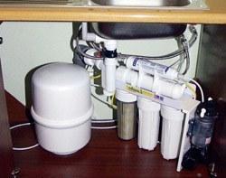 Установка фильтра очистки воды в Архангельске, подключение фильтра очистки воды в г.Архангельск